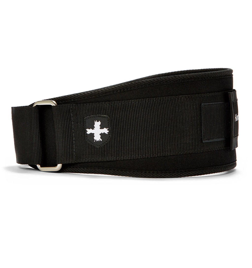 23300 Harbinger 5 inch Foam Core Mens Weight Lifting Belt Black Side
