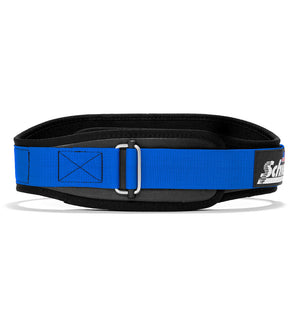 3004 Schiek Contour Power Weight Lifting Belt Blue Front