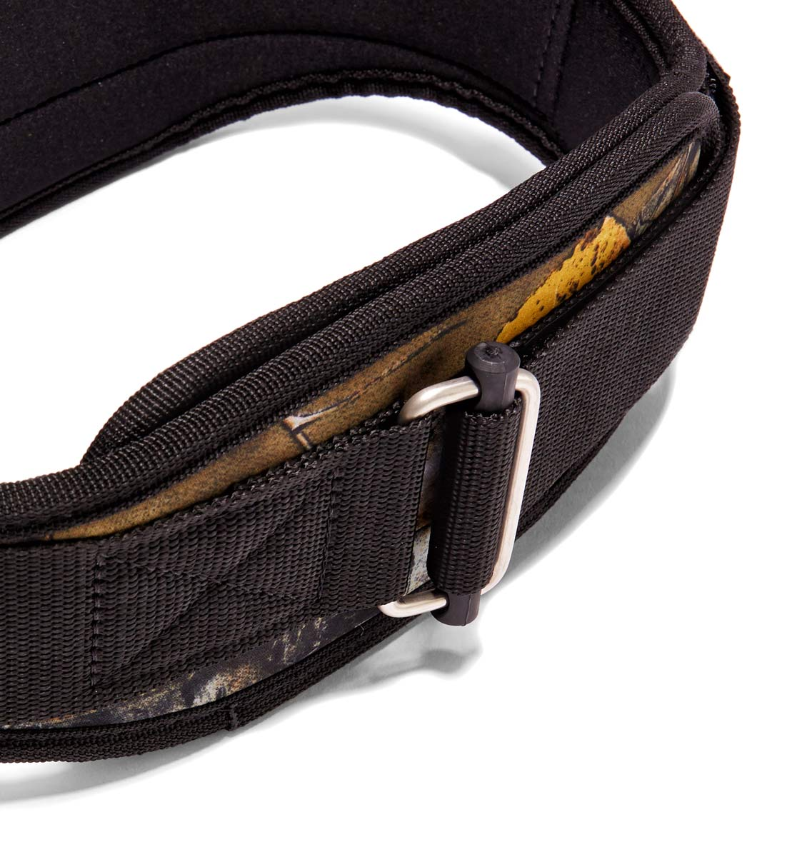 4006OB Schiek Contour Weight Lifting Belt Camo Buckle