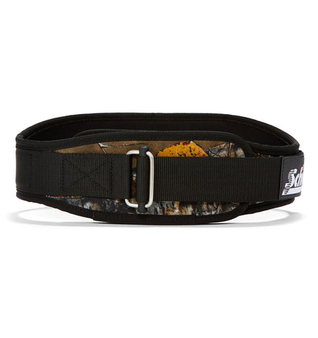 4006OB Schiek Contour Weight Lifting Belt Camo Front