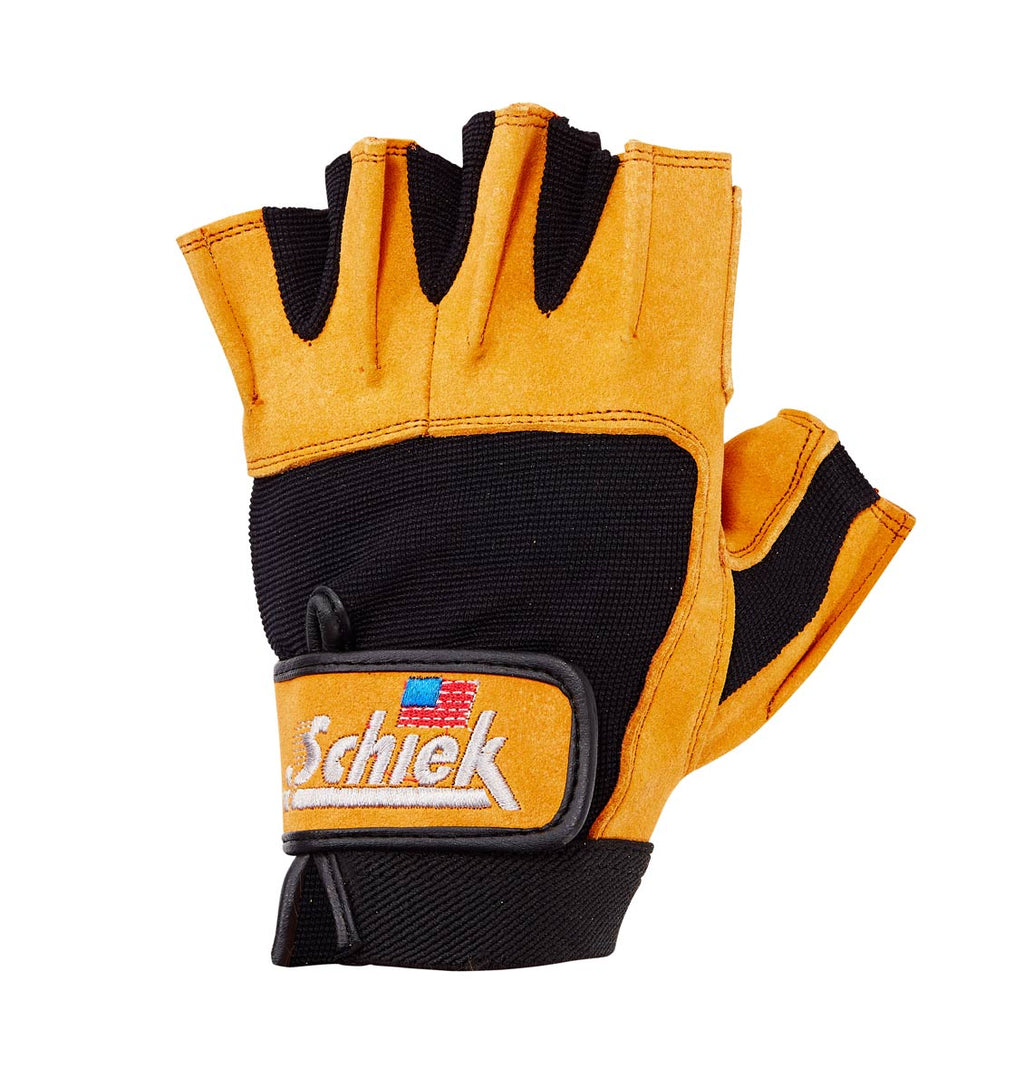 415 Schiek Power Series Lifting Gloves Left Top