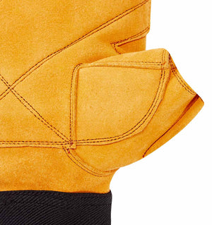 415 Schiek Power Series Lifting Gloves Palm Close Up