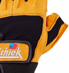 415 Schiek Power Series Lifting Gloves Top Close Up