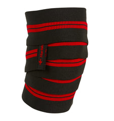 46300 Harbinger 78 inch Red Line Knee Wraps Front