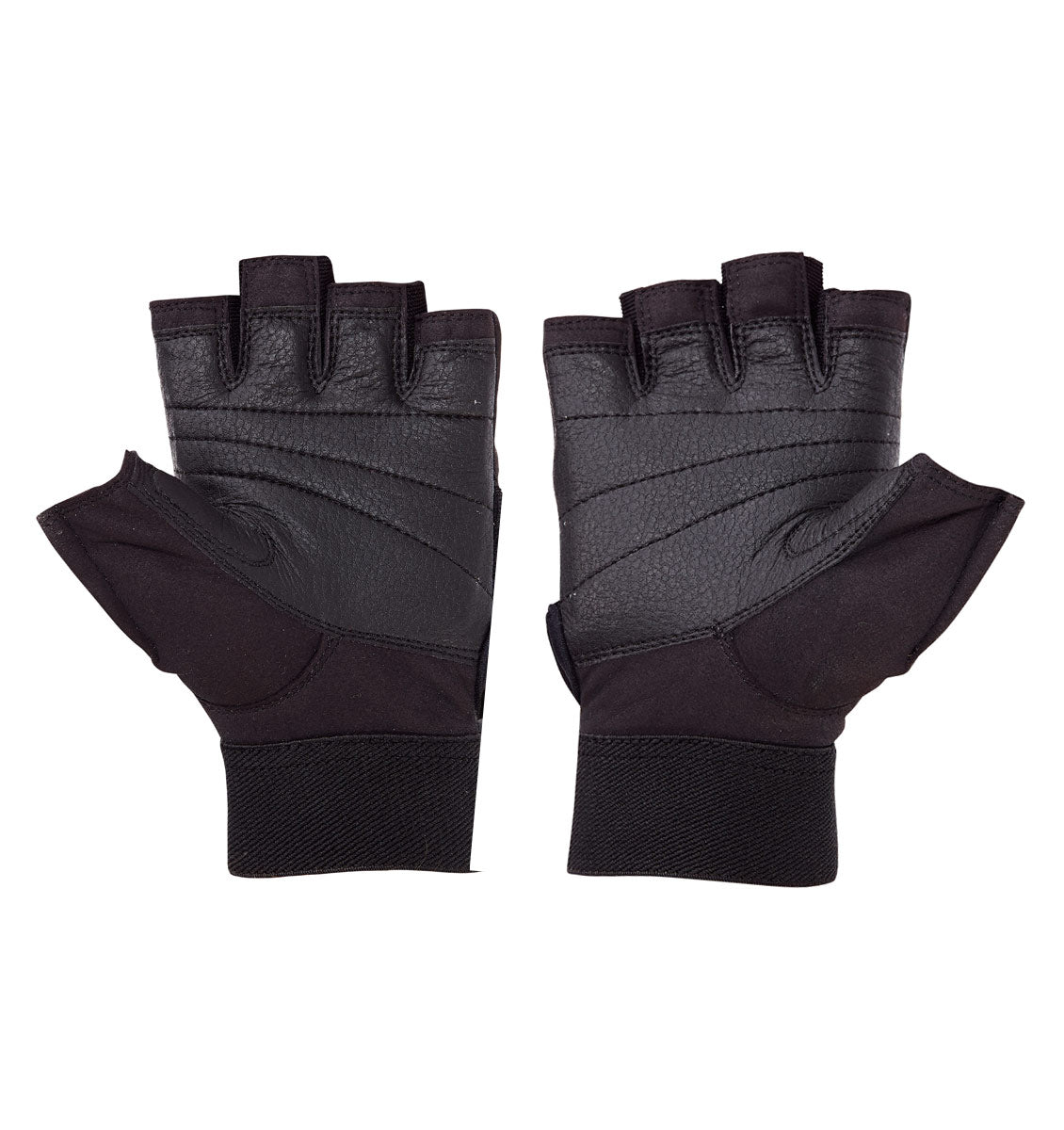 520 Schiek Womens Platinum Series Lifting Gym Gloves with Fins Pair Palm