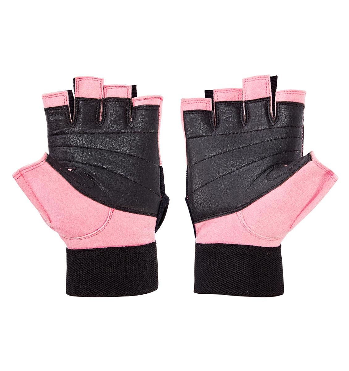 Schiek Lifting Gloves 520 Pink for Women Fitness Gym Workout Weightlifting