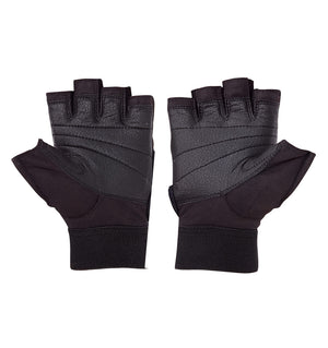 530 Schiek Platinum Series Lifting Gym Gloves with Fins Pair Palm