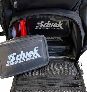 700MP Schiek Meal Prep Bag Opened Close Up