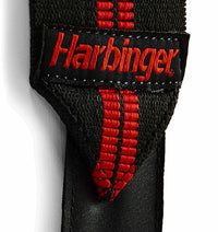 7044300 Harbinger Red Line Wrist Wraps Straps Material Close Up