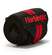 7044300 Harbinger Red Line Wrist Wraps Straps Single Close Up
