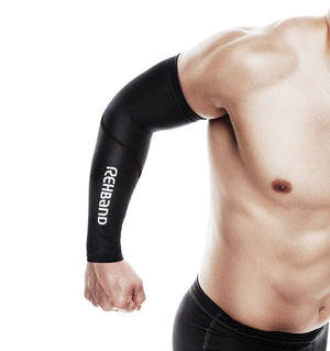 712006-01 Rehband QD Compression Arm Sleeves - Lifestyle