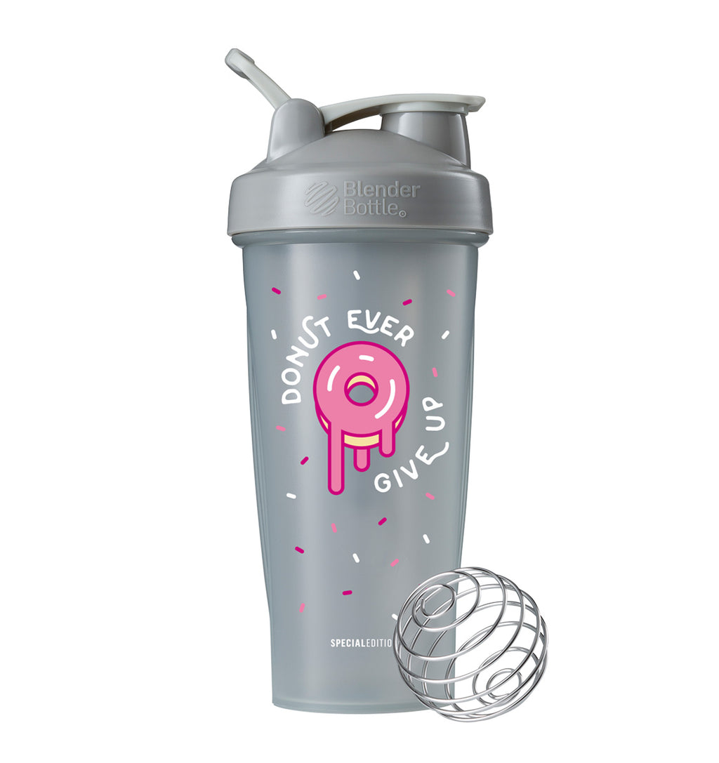 BlenderBottle Shaker Bottle - 28oz/825mL - Donut Ever Give Up - 1