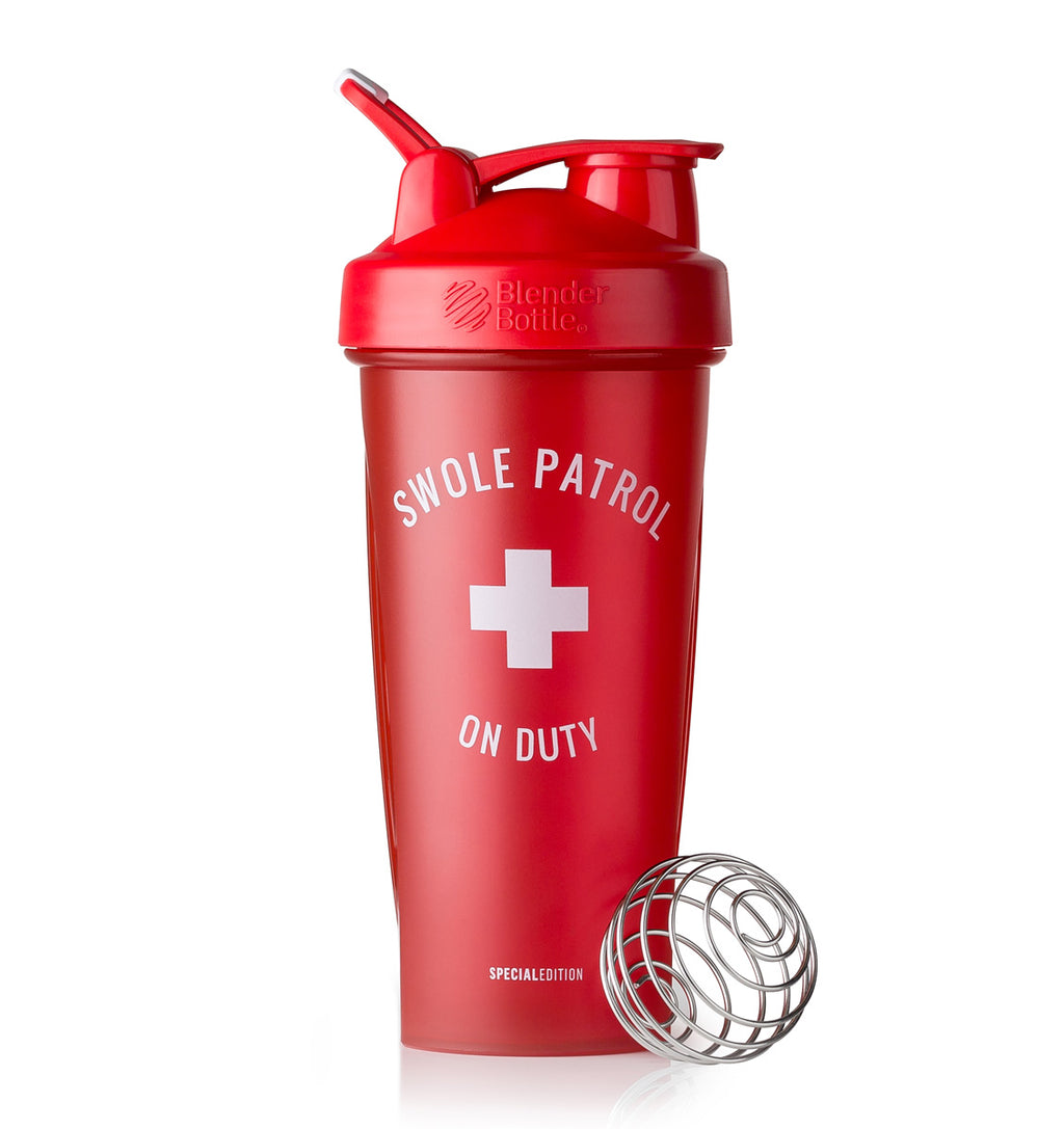 BlenderBottle Shaker Bottle - 28oz/825mL - Swole Patrol On Duty - 1