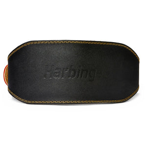 H5083 Harbinger 6 inch Leather Weight Lifting Belt Back