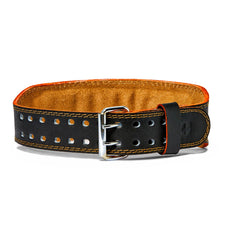 HAR284 Harbinger 4 inch Leather Weight Lifting Belt Front