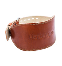 Harbinger 6 inch Oiled Leather Weight Lifting Belt - 1