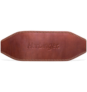 Harbinger 6 inch Oiled Leather Weight Lifting Belt - 2