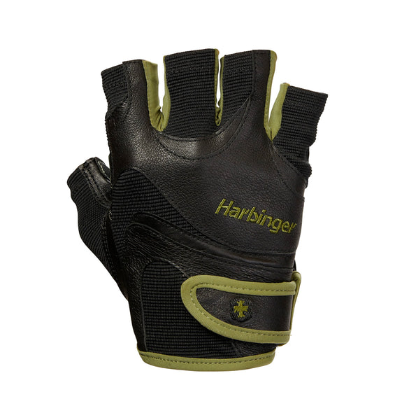 Harbinger Men's FlexFit Wash&Dry Glove Green Black - 1