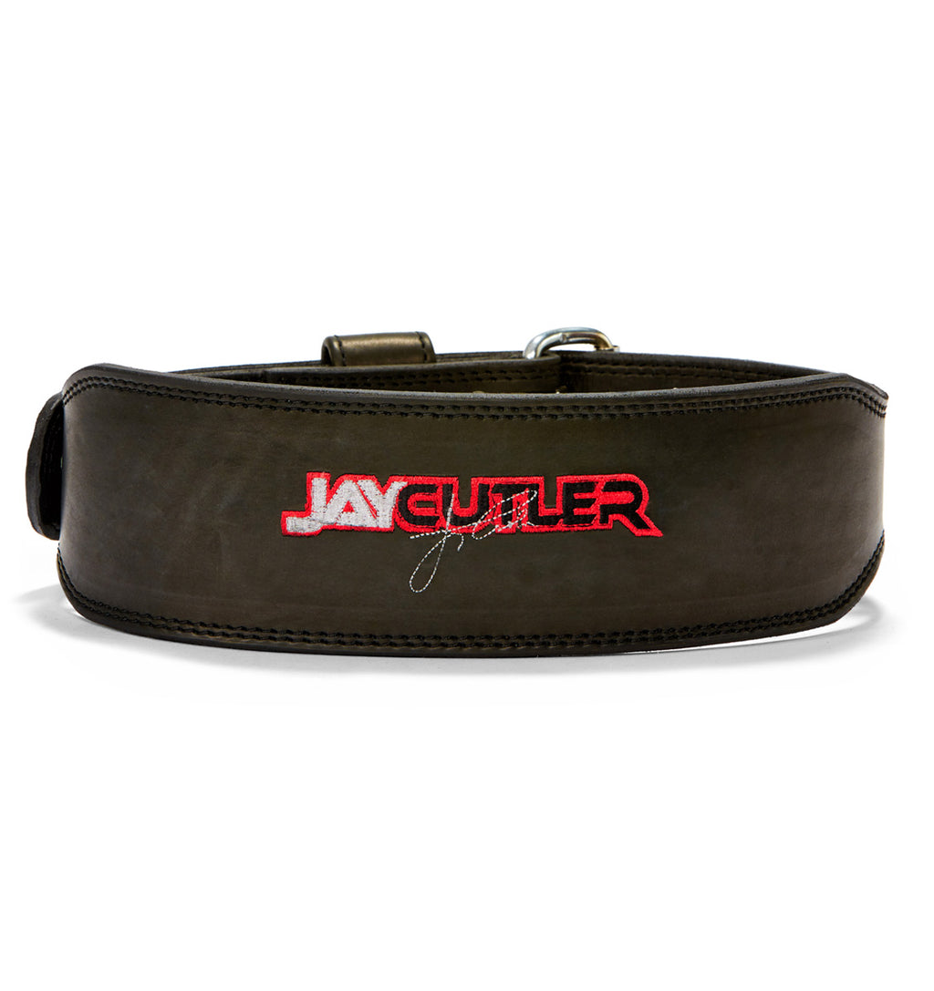 J2014 Schiek Jay Cutler Custom Weight Lifting Belt Back