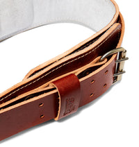 L2004 Schiek Contour Leather Weight Lifting Belt Buckle