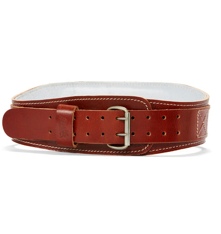 L2004 Schiek Contour Leather Weight Lifting Belt Front