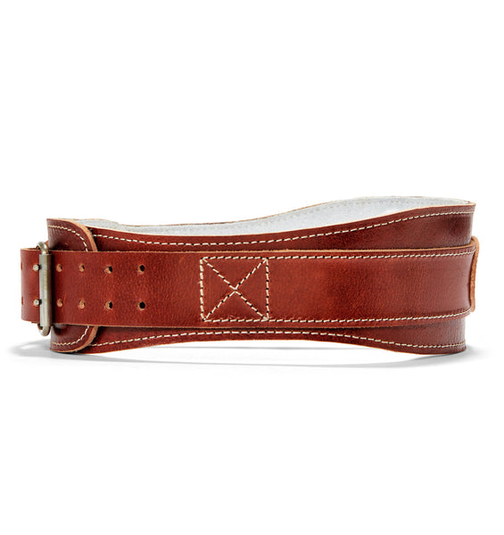 L2004 Schiek Contour Leather Weight Lifting Belt Side