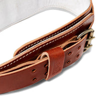 L2006 Schiek Contour Leather Weight Lifting Belt Buckle
