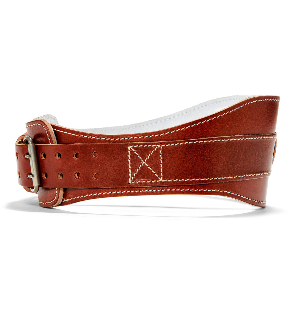 L2006 Schiek Contour Leather Weight Lifting Belt Side