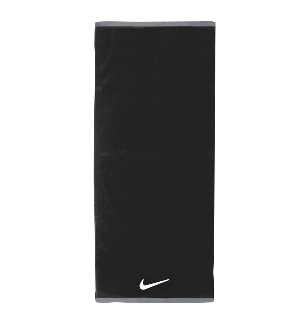 Nike Fundamental Towel - Large - Black/White - 1