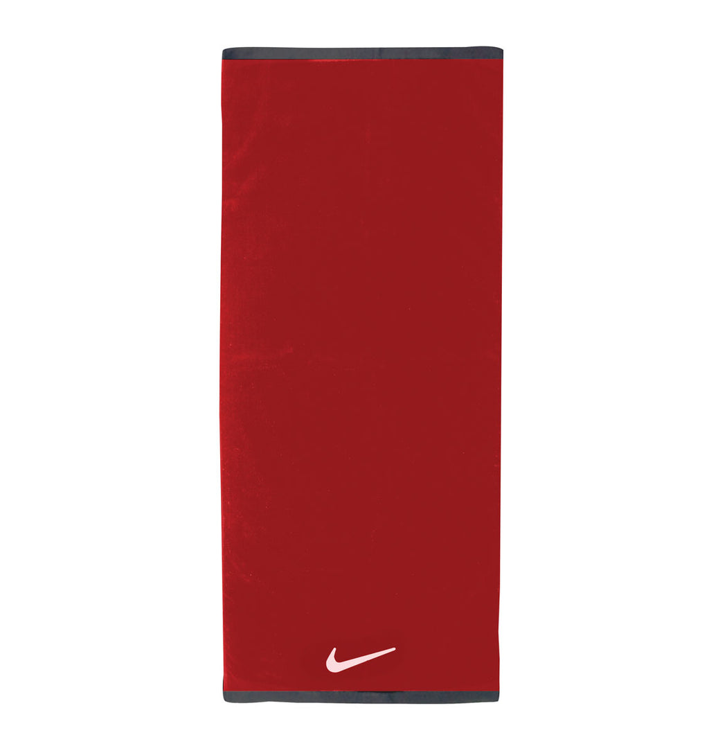 Nike Fundamental Towel - Large - Sport Red/White - 1