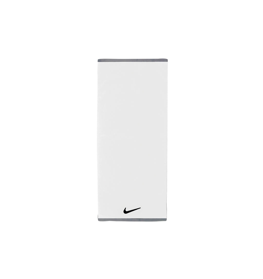 Nike Fundamental Towel -  Medium - White/Black - 1