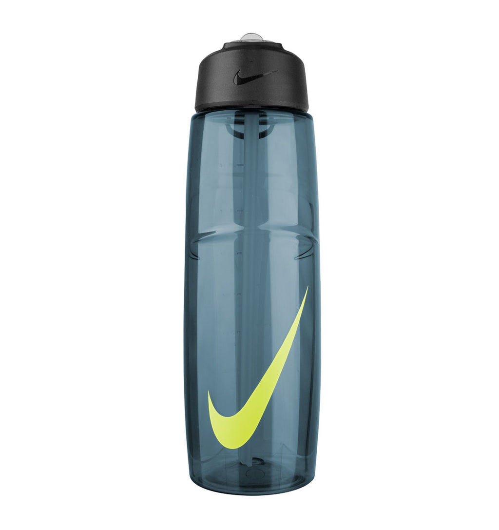 Nike T1 Flow Water Bottle - 32oz/946mL - Squadron Blue/Volt - 1