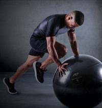 PTP Core Ball - 65cm - Onyx Black - Action Shot
