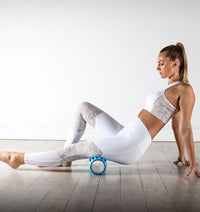 PTP Massage Therapy Foam Roller - Soft - Action Shot - 3
