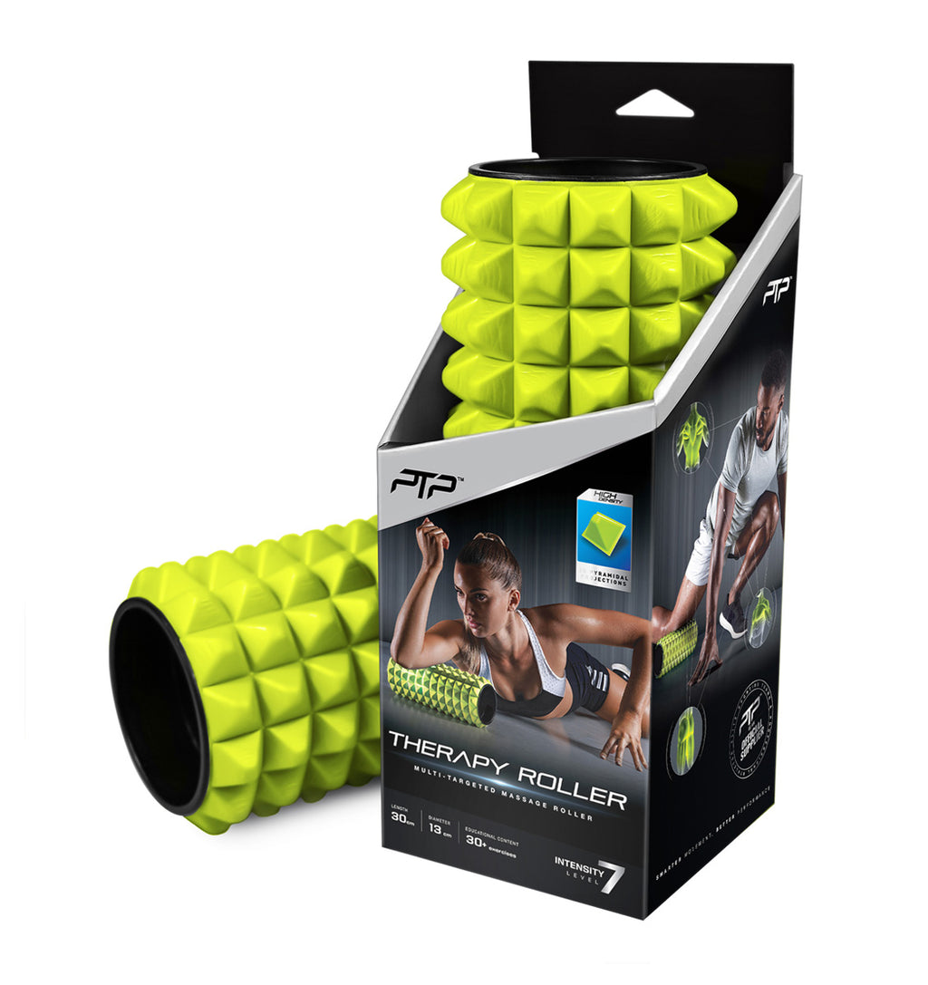 PTP Massage Therapy Foam Roller - Soft - Lime - 1