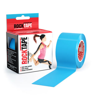 RKT413085000000 - RockTape Plain Rolls - Blue