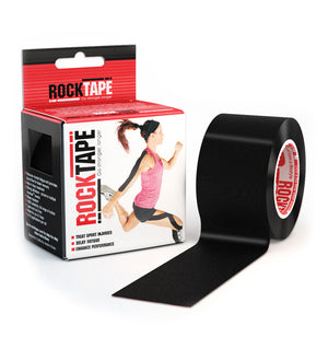 RKT413087000000 - RockTape Plain Rolls - Black