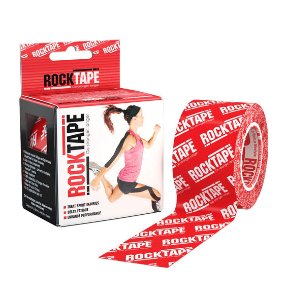 RKT413088000000 - RockTape Pattern Rolls - Logo Red