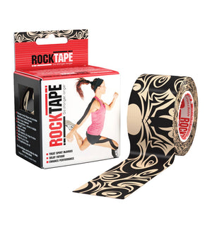 RKT517641000000 - RockTape Pattern Rolls - Tattoo