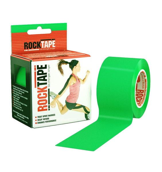 RKT517644000000 - RockTape Plain Rolls - Lime Green