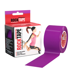RKT518124000000 - RockTape Plain Rolls - Purple