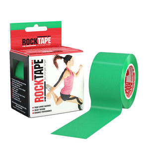RKT518130000000 - RockTape Plain Rolls - Green