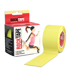 RKT518133000000 - RockTape Plain Rolls - Yellow