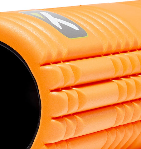TPT3GRD2OWS0000 TriggerPoint The Grid 2.0 Foam Roller Orange - 45 Degree Angle - Close Up