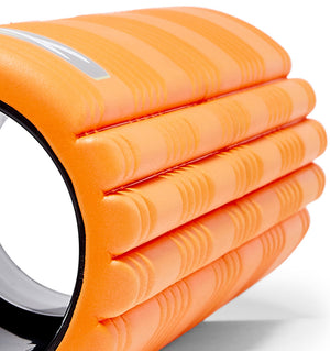 TPT3GRD2OWS0000 TriggerPoint The Grid 2.0 Foam Roller Orange - 60 Degree Angle - Close Up