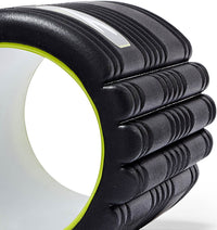TPT3GRDBWS00000 TriggerPoint The Grid 1.0 Foam Roller Black - 60 Degree Angle - Close Up