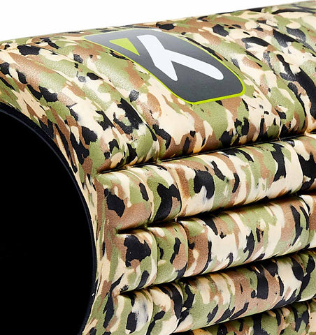 TPT3GRDCW000000 TriggerPoint The Grid 1.0 Foam Roller Camo - 45 Degree Angle - Close Up
