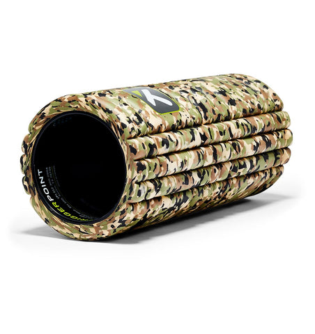TPT3GRDCW000000 TriggerPoint The Grid 1.0 Foam Roller Camo - 45 Degree Angle - Full Shot