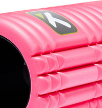 TPT3GRDPWS00000 TriggerPoint The Grid 1.0 Foam Roller Pink - 45 Degree Angle - Close Up