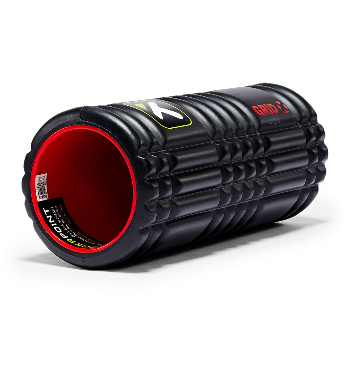 TPT3GRDPXX00000 TriggerPoint The Grid 1.0 X Foam Roller - 45 Degree Angle - Full Shot
